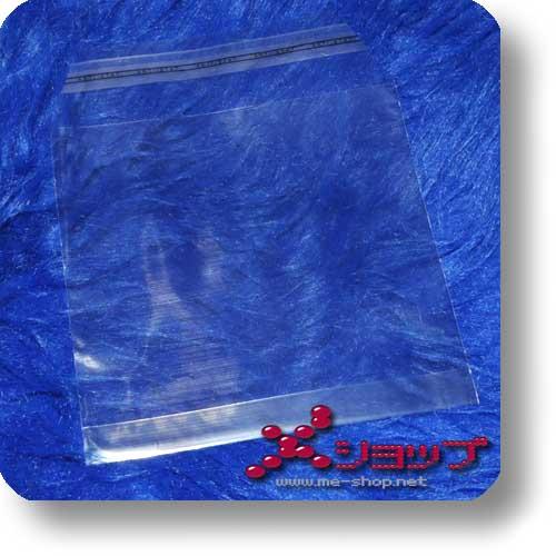 DOPPEL-CD-SCHUTZHÜLLE - transparent, wiederverschließbar-0