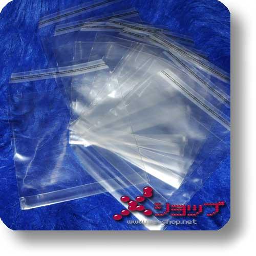 DOPPEL-CD-SCHUTZHÜLLE - transparent, wiederverschließbar (10 St.-0