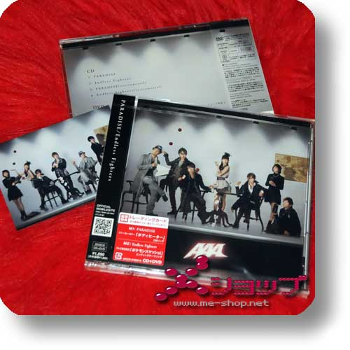 AAA - PARADISE/Endless Fighters LIM.CD+DVD A-Type+Bonus!-0