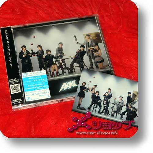 AAA - PARADISE/Endless Fighters LIM.1.Press +Bonus!-0