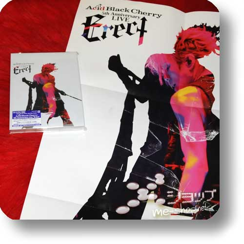 ACID BLACK CHERRY - 5th Anniversary LIVE Erect (lim.1.Press BLU-RAY) +Bonus-Promoposter!-0