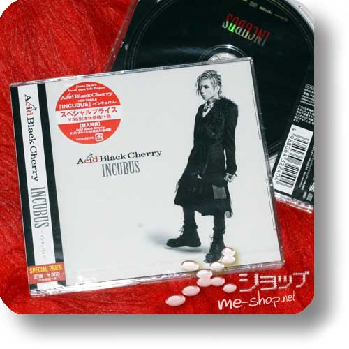 ACID BLACK CHERRY - INCUBUS lim.Special Edition inkl. Tradingcard!-0