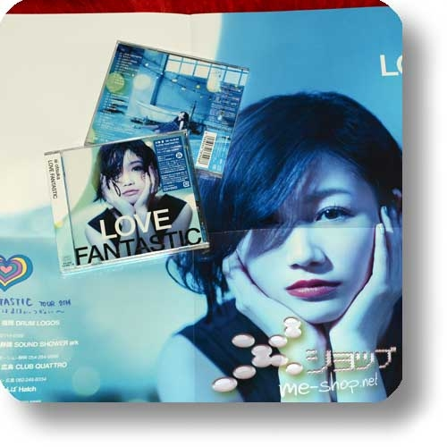 ai otsuka - LOVE FANTASTIC (CD+DVD) +Bonus-Promoposter!-0