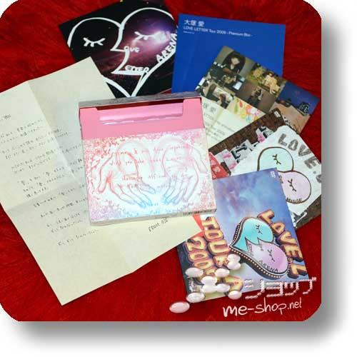 ai otsuka - LOVE LETTER Tour 2009 -Premium Box- (3DVD+Photobook) (Re!cycle)-0