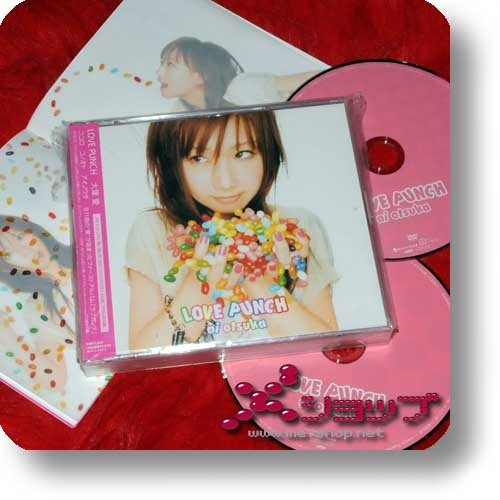 ai otsuka - LOVE PUNCH CD+DVD (Re!cycle)-0