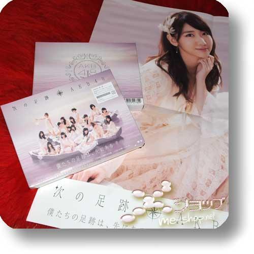 AKB48 - Tsugi no Ashiato LIM.BOX 2CD+DVD+Photobook +Bonus-Promoposter!-0
