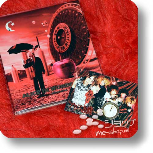ALICE NINE - ALICE IN WONDEЯ LAND (alice nine. / WONDERLAND) 1st PRESS LIM.10000 +Bonus-Tradingcard! (Re!cycle)-0