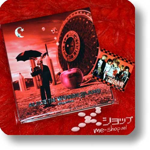 ALICE NINE - ALICE IN WONDEЯ LAND (alice nine. / WONDERLAND) 1st PRESS LIM.10000 +Bonus-Sticker! (Re!cycle)-0