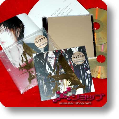 ALICE NINE - Alpha (lim.CD+DVD / alice nine.) (Re!cycle)-0