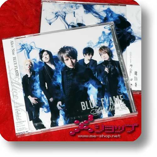 ALICE NINE - BLUE FLAME lim.CD+DVD A-Type-0