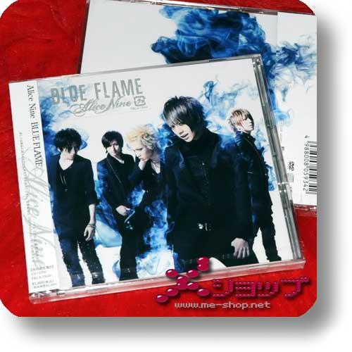 ALICE NINE - BLUE FLAME lim.CD+DVD B-Type-0