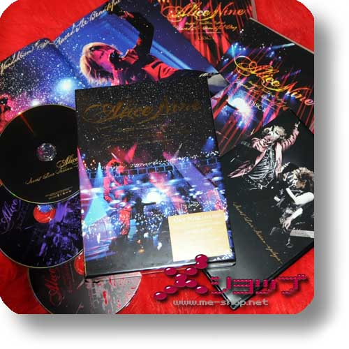 ALICE NINE - Untitled Vandal(ism) Finale Graced The Beautiful Day (lim.3DVD-Box) (Re!cycle)-0