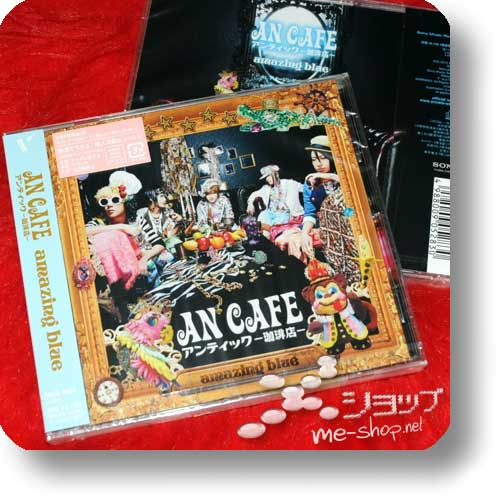 AN CAFE - amazing blue lim.1.Press+Bonus!-0