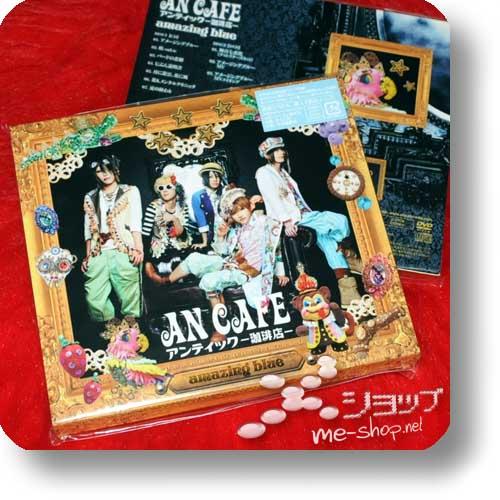 AN CAFE - amazing blue LIM.CD+DVD 1.Press+Bonus!-0