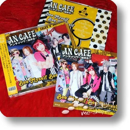 AN CAFE - Bee Myself Bee Yourself LIM.CD+DVD +Bonus-Fotosticker!-0