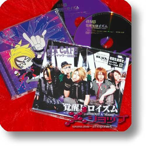 AN CAFE - Kakusei Heroism LIM.CD+DVD (A-Type) (Re!cycle)-0
