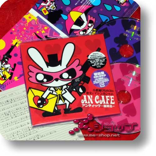 AN CAFE - Koakuma USAGI no koibumi to machine gun LIM.CD+DVD (Re!cycle)-0