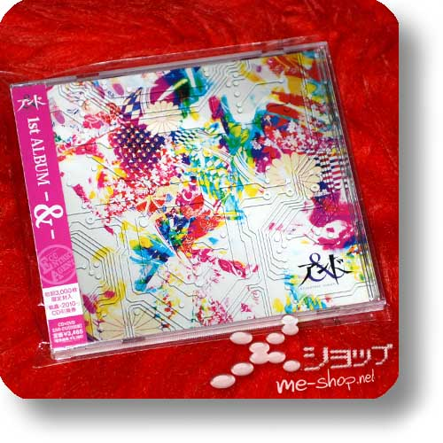 AND (& -ECCENTRIC AGENT-) - 1st Album -&- (lim.CD+DVD) (Re!cycle)-0