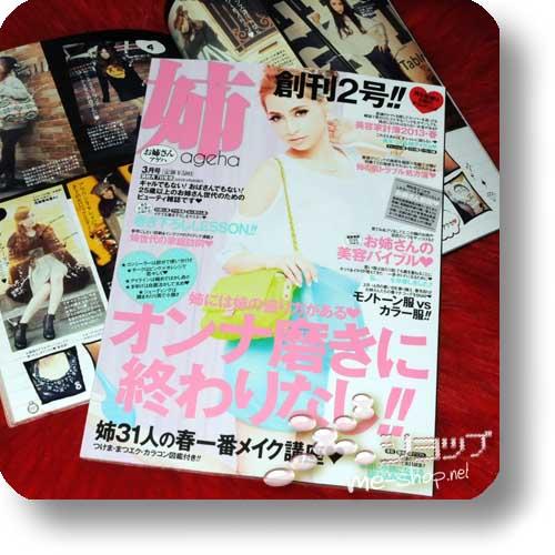 ANE AGEHA März 2013 (Onesan ni natte ageha / Fashion & Lifestyle Magazine)-0