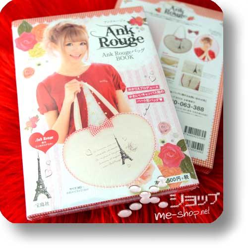 ANK ROUGE Bag Book (Sommer 2014) inkl.original Kawaii Heart Shaped Bag!-0