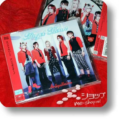 ANLI POLLICINO - Angel Heart LIM.CD+DVD A-Type-0