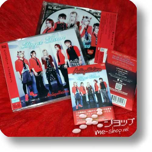 ANLI POLLICINO - Angel Heart LIM.CD+DVD A-Type +Bonus-Tradingcardset!-0