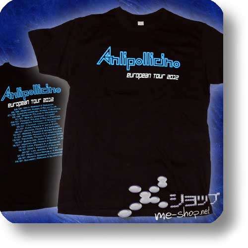 "ANLI POLLICINO - EU-Tour 2012 Original T-Shirt ""Logo"" Gr. S-0"