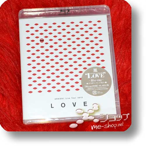 ARASHI - Live Tour 2013 LOVE (2Blu-Ray)-0