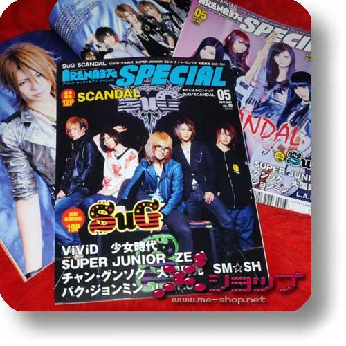ARENA 37°c SPECIAL 80 (Mai 11) SuG / SCANDAL, ViVID, Super Junior-0
