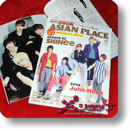 ARENA 37°c SPECIAL ASIAN PLACE (Jul.11) SHINee, MBLAQ...-0