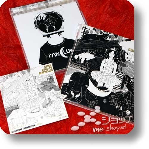 ASIAN KUNG-FU GENERATION - Fanclub (1.Press inkl.Bonus-Sticker!) (Re!cycle)-0