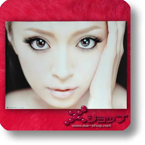 AYUMI HAMASAKI - A Best 2 (black) CD+2DVDs lim.1.Press +gerolltes Promoposter! (Re!cycle)-0
