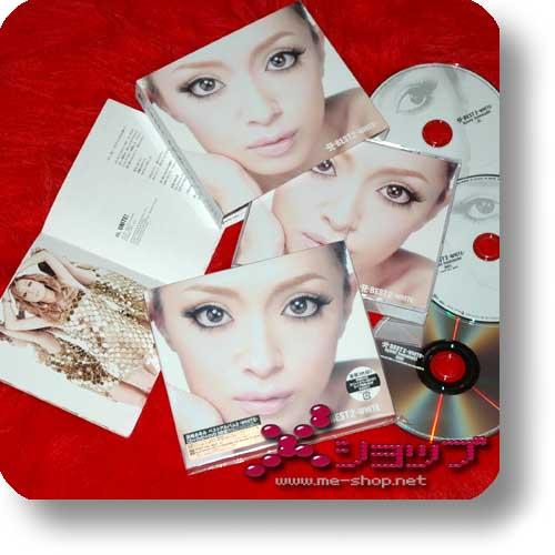 AYUMI HAMASAKI - A Best 2 (white) CD+2DVDs LIM.1.Pr.(Re!cycle)-0
