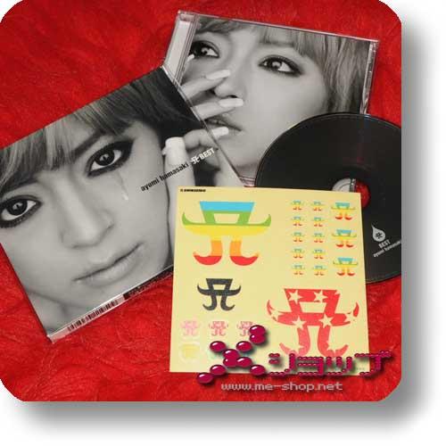AYUMI HAMASAKI - A BEST lim.1st Press+Bonus-Stickerbogen!-0
