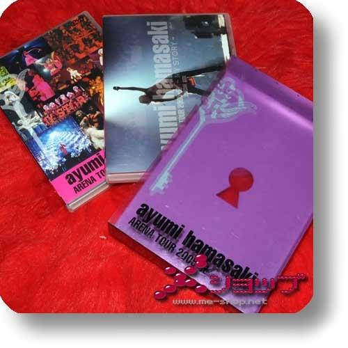 AYUMI HAMASAKI - Arena Tour 2005 A (3 DVD-Box) (Re!cycle)-28925