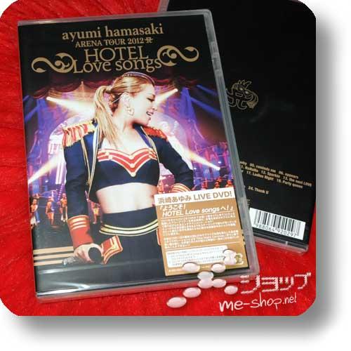 AYUMI HAMASAKI - ARENA TOUR 2012A ~HOTEL Love songs~ 2DVD-0