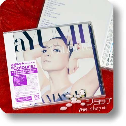 AYUMI HAMASAKI - CoLOURS (CD+Blu-ray)-0