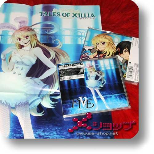 """AYUMI HAMASAKI - FIVE (lim.""""Tales of Xillia""""-Edition)+Bonus-Promoposter-0"""