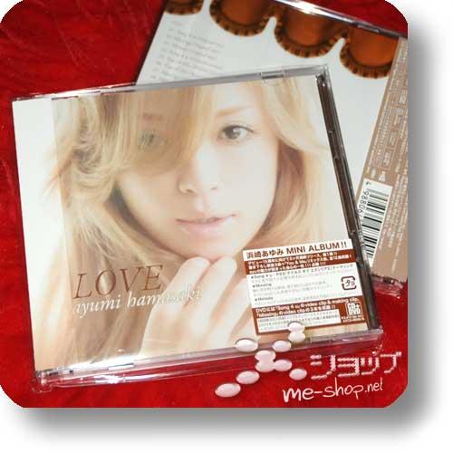 AYUMI HAMASAKI - LOVE lim.CD+DVD-0