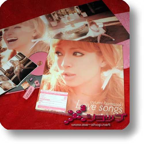 AYUMI HAMASAKI - Love Songs LIM.BOX USB+microSD+DVD (Re!cycle)-0