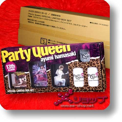 AYUMI HAMASAKI - Party Queen SPECIAL LIM.BOXSET CD+2DVD+Blu-ray+-0