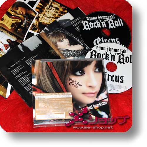 AYUMI HAMASAKI - Rock'n'Roll Circus CD+DVD lim.1st Press (Re!cycle)-0