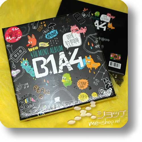 B1A4 - 4th Minialbum WHAT'S THE PROBLEM (lim.Box) ORIG.KOREAPRESSUNG!-0