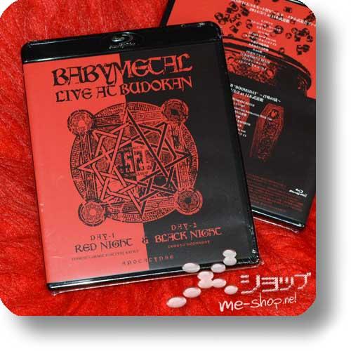 BABYMETAL - LIVE AT BUDOKAN (Blu-ray) +Bonus-Metallbutton!-10836