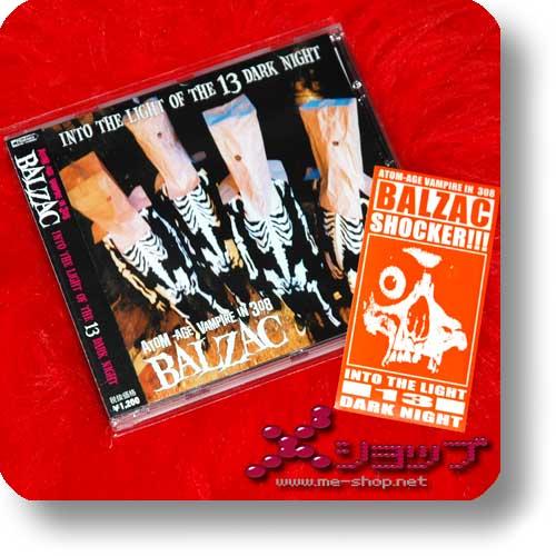 BALZAC - Into the night of 13 dark light (lim. 1.Press inkl.Sticker!)-0