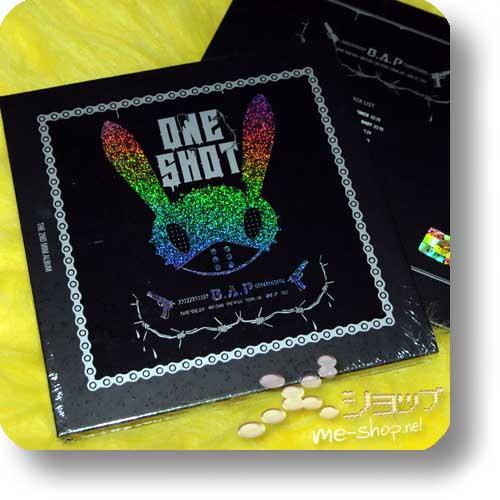 """B.A.P - 2nd Mini Album """"ONE SHOT"""" LIM.DIGIBOOK / ORIG.KOREAPRES-0"""