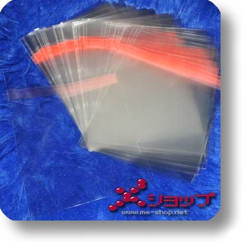 BLU-RAY-SCHUTZHÜLLE (11 mm) - transparent, wiederverschließbar (100 St.)-0