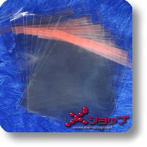 BLU-RAY-SCHUTZHÜLLE (11 mm) - transparent, wiederverschließbar (10 St.)-0