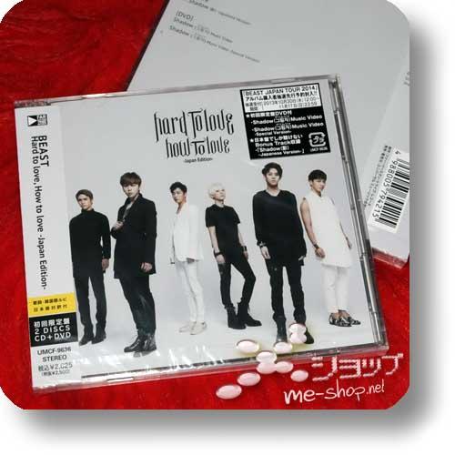 BEAST - Hard to love, How to love -Japan Edition- LIM.CD+DVD inkl.Bonustrack!-0