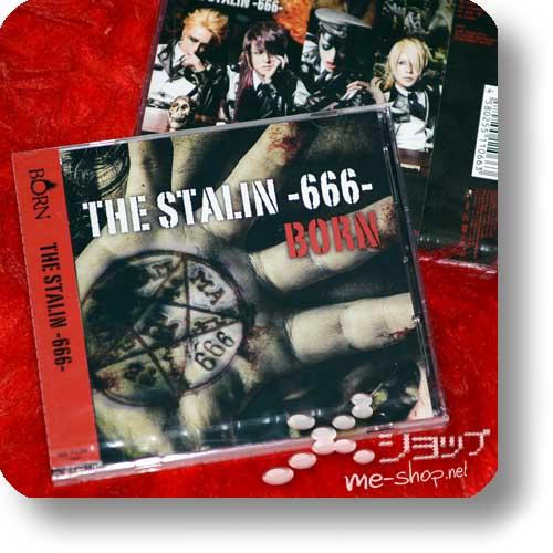 BORN - THE STALIN -666- lim.CD+DVD B-Type-0